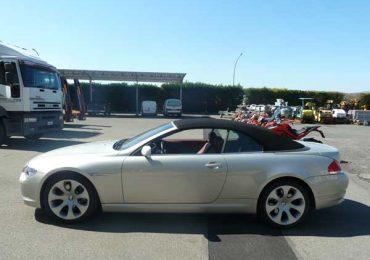BMW 645 i cabrio di proprietà di Daniele di Cavolo